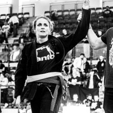 Linda Kačáková - SWAG brno Gym Academy trenérka BJJ brazilského jiu jitsu